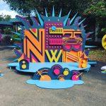 多摩センターイルミ点灯式&渋谷系イベント「newtown」の様子
